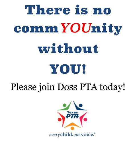 Join The Pta At Doss Elementary Pta