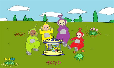 Playtime Teddy Snuggle Puppet Books image png teletubbies wiki fandom