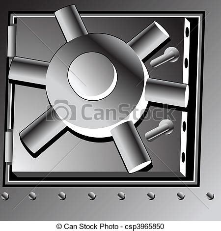 vector clipart of bank vault door csp3965850 search clip illustration drawings and