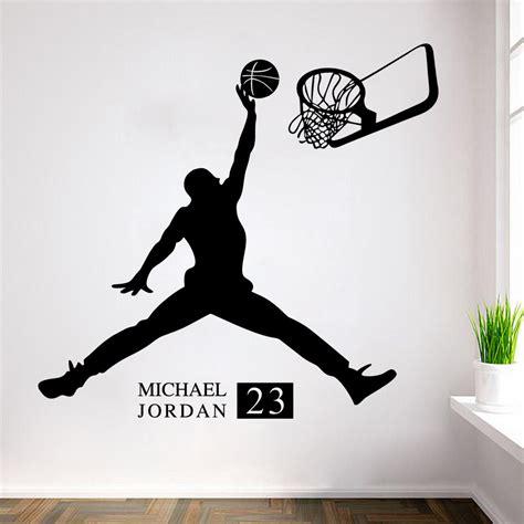 imagenes de jordan jugando d 233 coration chambre de basket ball achetez des lots 224 petit