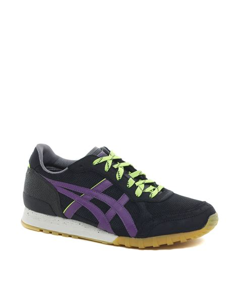 onitsuka sneakers onitsuka tiger colorado 85 sneakers in purple for