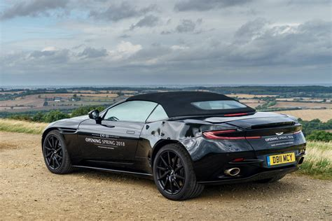 aston martin 2018 aston martin db11 volante revealed in photos
