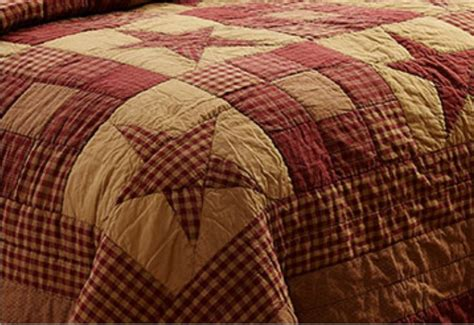 Burgundy Quilts by Ninepatch Burgundy Primitive Quilt