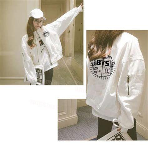 Jaket Varsity Kpop Exo Baekhyun 4 kpop bts merchandise baekhyun varsity jacket unisex exo