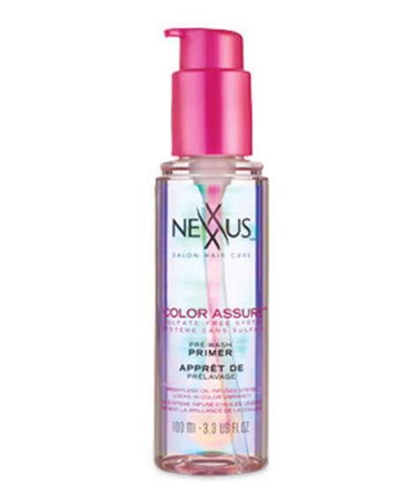 nexxus color assure pre wash primer it s a stretch 12 absolutely great new hair products
