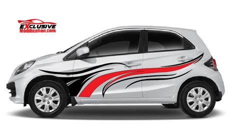 Stiker Striping Skotlet Decal Sticker Lis Motor Honda Revo Fit cutting sticker by exclusive modification exclusive