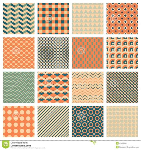 simple pattern ai simple geometric patterns stock vector image 41435066