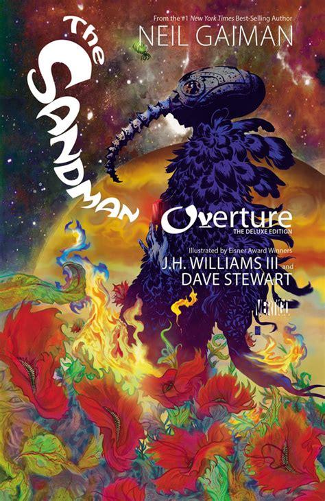 sandman edicin deluxe vol the sandman overture the deluxe edition volume comic vine