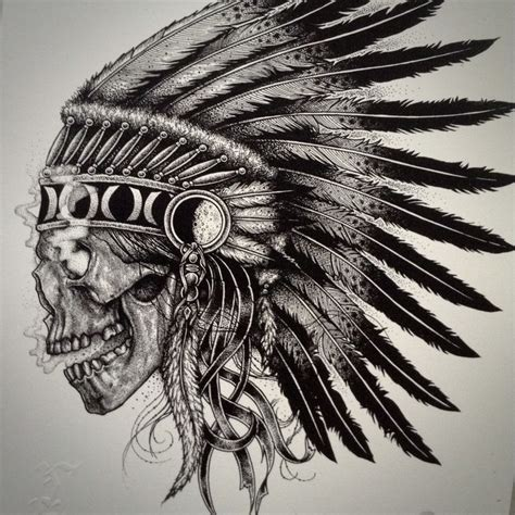 indian chief skull tattoo indian chief skull www imgkid the image kid