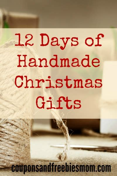 no cost gift ideas handmade gifts 12 simple presents