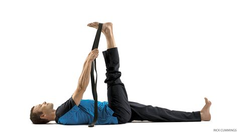 Reclining Big Toe Pose by 10 Minute Sequence To Ease Back