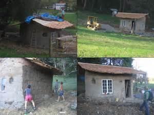 tiny cob house project