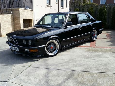 1987 bmw e28 535 mtech m5 tribute bumpers bbs wheel