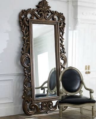 ornate floor mirror ssa my boutique ideas pinterest