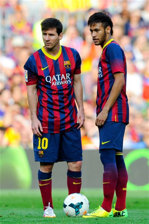 Messi Hairstyle 2015 Chions League by Lionel Messi And Neymar Lionel Messi Neymar Photos Fc