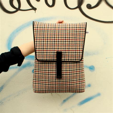 backpack sofa backpack sofa optical check pijama touch of modern