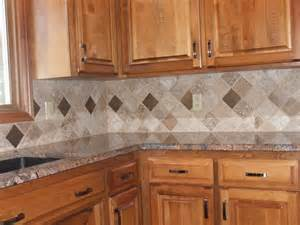 Tile Patterns For Kitchen Backsplash by Tile Backsplashes Arranging Tiles In A Diamond Patter