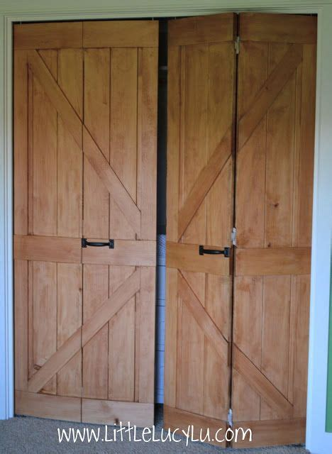 Bifold Barn Doors Little Lucy Lu From Bi Fold To Barn Doors Maxs Closet