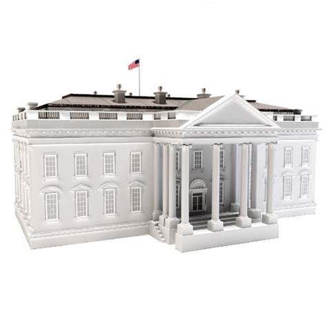 white house model dosch design 3d models textures hdri audio and viz images