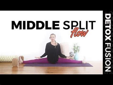 vinyasa yoga tutorial youtube day 7 yoga for flexibility side split quot middle splits