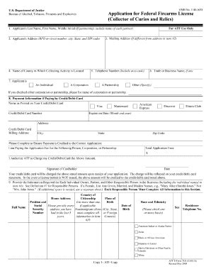 How To Fill Out Application To Pass Atf Atf E Form 7cr Fill Printable Fillable Blank