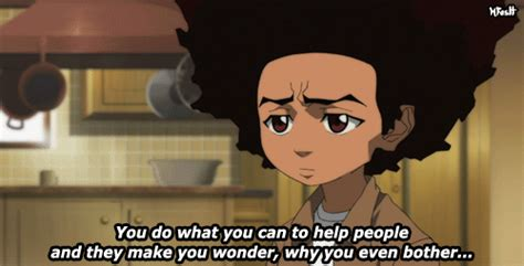 Boondocks Meme - boondocks huey freeman quotes