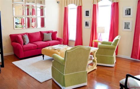 bright pink sofa 18 pink sofa living room designs ideas design trends