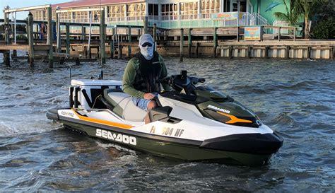 sea doo boat range 2019 sea doo fish pro review personal watercraft
