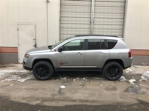 jeep compass lifted 2015 jeep compass altitude with rocky road lift and 18