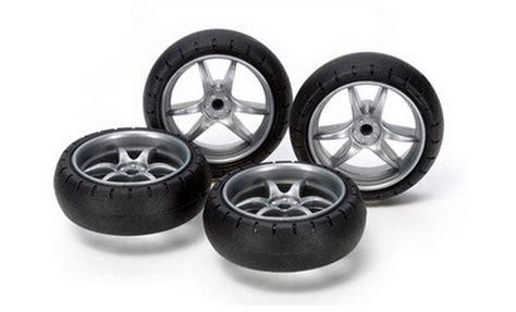 Large Diameter Carbon Wheel Tamiya tamiya 15491 large diameter v spoke narrow wheels w arched tires