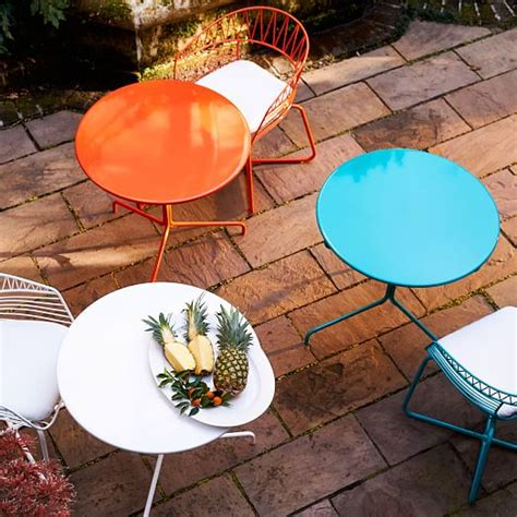 Soleil Patio Furniture by Soleil Metal Outdoor Bistro Dining Set Table 2 Chairs