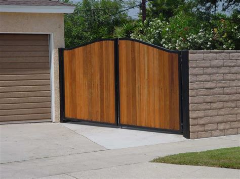 metal and wood fence ideas ideas with ideas combine block wall metal fence ehow block walls