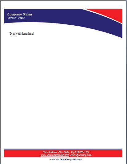 business letterhead template pdf 17 company letterhead templates excel pdf formats