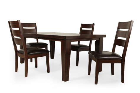 Mathis Brothers Dining Room Sets Porter Five Dining Set Mathis Brothers Dining Room Furniture