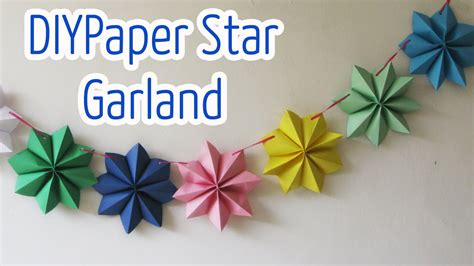 how to do craft with paper diy crafts paper garland diy crafts