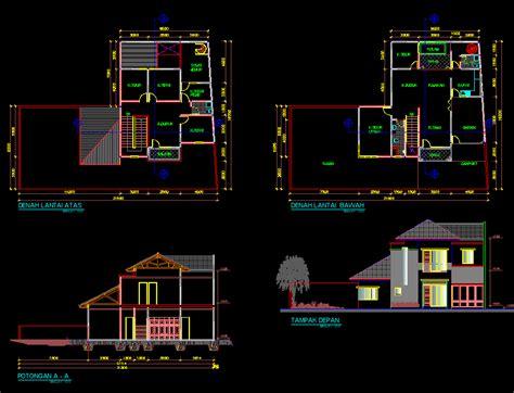 tutorial menggambar rumah 3d dengan autocad gambar tutorial menggambar desain rumah dengan autocad