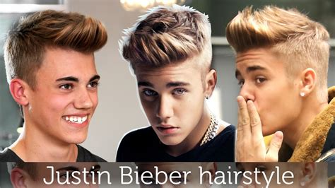 Justin Bieber Hairstyle 2015 Side View by Justin Bieber Hair Tutorial S Hairstyle