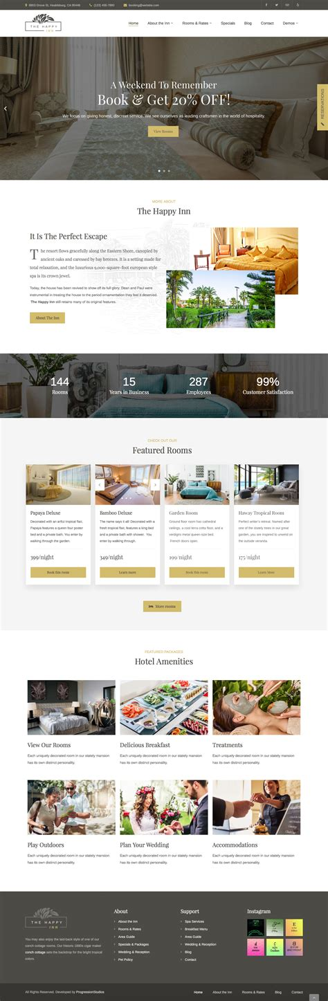 yii2 default layout file the happy inn hotel bed breakfast theme by