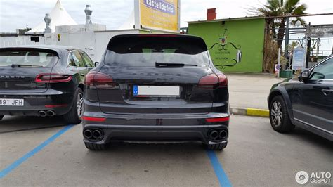 2017 porsche cayenne turbo s porsche 958 cayenne turbo s mkii 27 january 2017