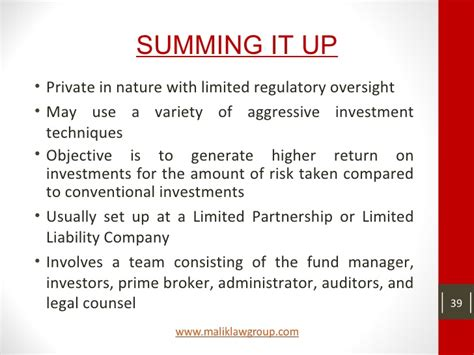 Side Letter Agreement Hedge Fund Hedge Funds A Basic Overview