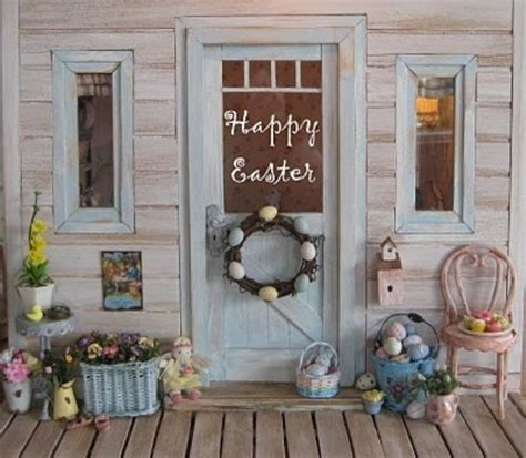 spring decor ideas outdoor design outdoor easter decoration veranda design