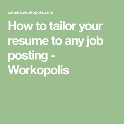 Posting A Resume Tips by Best 25 Posting Ideas Only On Search