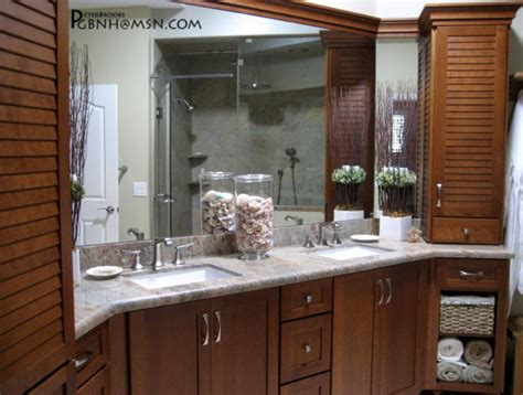 Tropical Plumbing Orlando by His And Hers Vanity Tropical Bathroom Orlando By