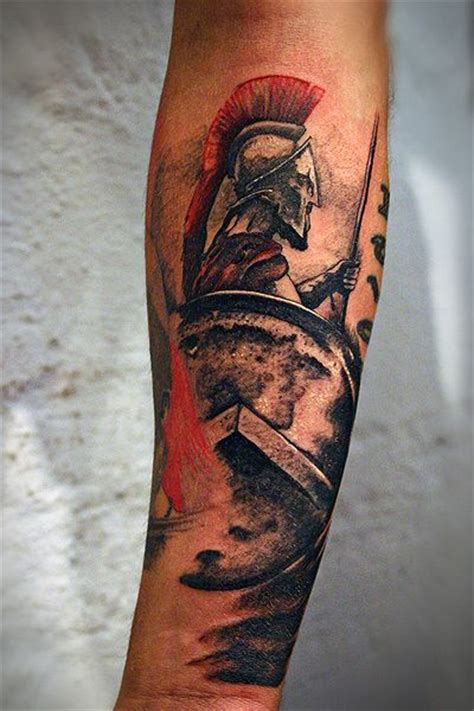 spartan warrior tattoo deciding between just helmets or busts similar to this