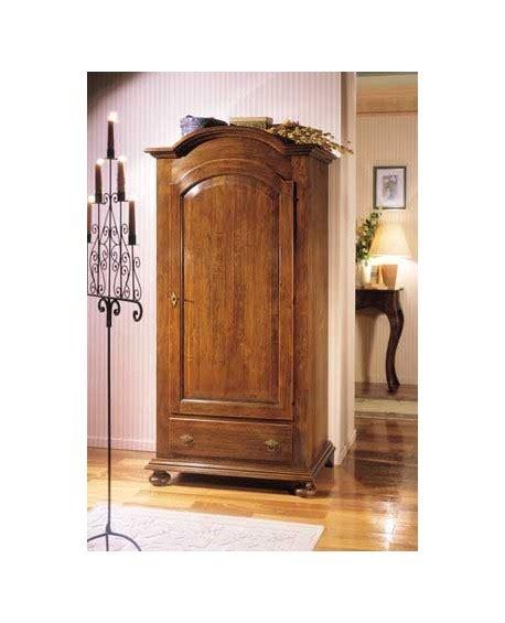 armadio 1 anta armadio legno 1 anta 1 cassetto legno massello l 96 p 56 h 196