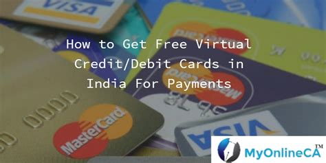 Gift Card In India - how to get free virtual credit debit cards in india