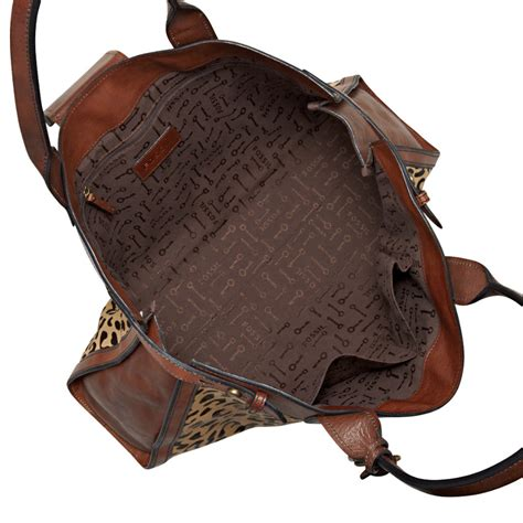 Fossil Tab Cheetah nwt fossil vintage re issue leather weekender cheetah ebay