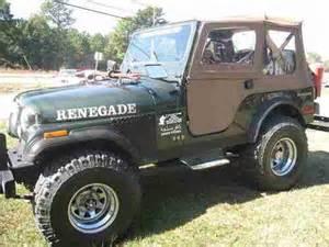 1978 Jeep Renegade Sell Used 1978 Jeep Renegade 4x4 Cj5 In