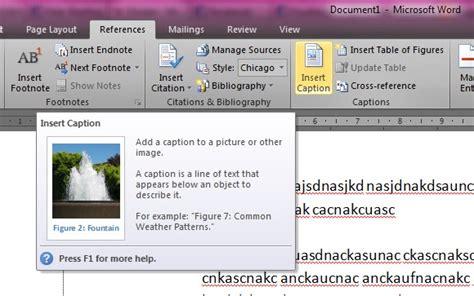 membuat daftar tabel gambar membuat daftar gambar dan tabel otomatis duasatusebelas