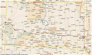 us map south dakota south dakota map